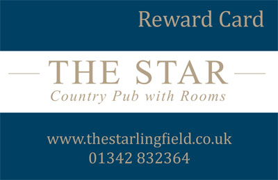 Star Lingfield image of Reward Card